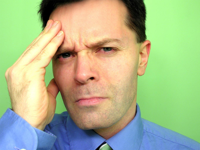 אדם שאיבד כושר עבודה בגלל הלחץ